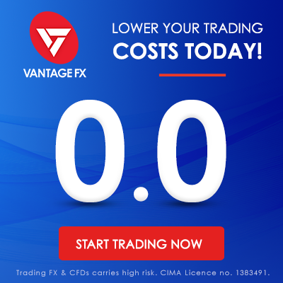 vantage fx low trading fees